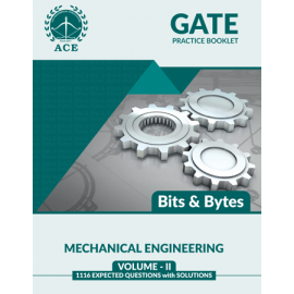 GATE 2020 Mechanical BITS -BYTS Practice Questions With Solutions Volume-2 ACE ACADEMY