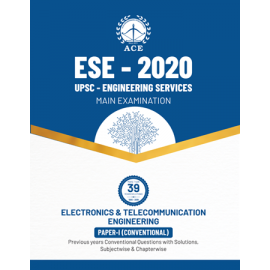 ESE Mains 2020 :  Electronics & Telecommunication Conventional Paper I Previous Questions With Solutions ACE ACADEMY