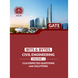 GATE 2020 CIVIL Practice Questions With Solutions Volume-1 ACE ACADEMY Bits & Byts