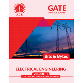 GATE 2020 EEE BITS-BYTS Practice Questions With Solutions Volume 2 ACE ACADEMY