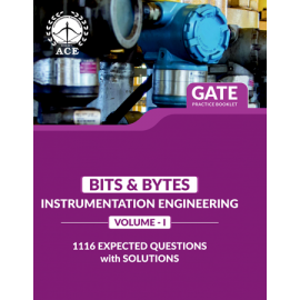GATE 2020 Instrumentation BITS-BYTS Practice Questions With Solutions Volume-1 ACE ACADEMY