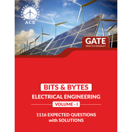 GATE 2020 EEE BITS-BYTS Practice Questions With Solutions Volume 1 ACE ACADEMY