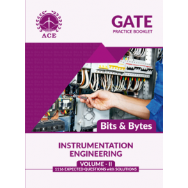 GATE 2020 Instrumentation BITS -BYTES Practice Questions With Solutions Volume-2 ACE ACADEMY