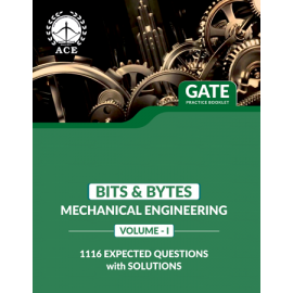 GATE 2020 Mechanical BITS-BYTS Practice Questions With Solutions Volume-1 ACE ACADEMY