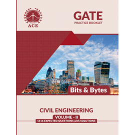 GATE 2020 Civil Practice Questions With Solutions Volume 2 ACE ACADEMY Bits & Byts