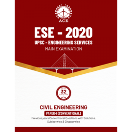 ESE 2020 Mains Civil Engineering Conventional Paper I Previous Conventional Questions With Solutions ACE ACADEMY