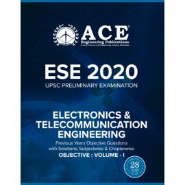 ESE-2020 UPSC Preliminary Examination Electronics & Telecommunication Engineering Objective Volume 1 ACE ACADEMY