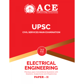Civil Services Mains Electrical Engineering Paper 2 Previous Conventional Questions With Solutions ACE ACADEMY