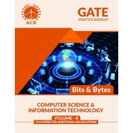 GATE 2020 CSIT BITS & BYTES  Practice Questions With Solutions Volume-2 ACE ACADEMY