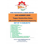 Ace Academy Handwritten Notes : IES & GATE/PSUs Electronics Engineering