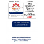Electrical Engineering Handwritten Notes Analog Electronics ACE ACADEMY