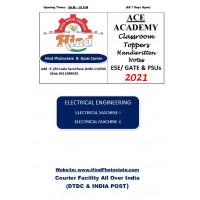 Electrical Engineering Handwritten Notes Electrical Machine 1 Electrical Machine -2 ACE ACADEMY