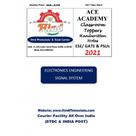 Electronics Engineering Handwritten Notes Signal System ACE ACADEMY