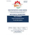 Mechanical Engineering Handwritten Notes : Fluid Mechanics Ace Academy