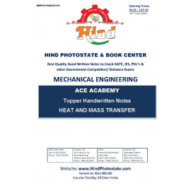 Mechanical Engineering Handwritten Notes : Heat Mass Transfer ACE ACADEMY