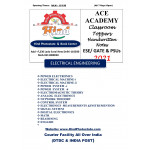 Electrical Engineering Hand Written Notes- (GATE ) - (Set Of 15 Subjects) ACE ACADEMY