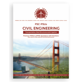 AEE Civil Engineering Transportation, Steel Structures & Irrigation Previous Questions With Solutions ACE ACADEMY
