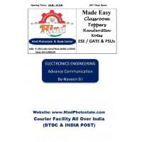 Electronics & Comm Handwritten Notes ( Made Easy ) : Advance Communication By-Urvashi maim