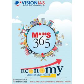 VISION IAS MAINS 365 ECONOMY PRINTED MATERIAL