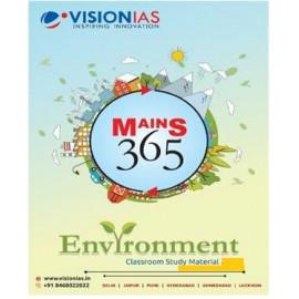 VISION IAS MAINS 365 ENVIRONMENT PRINTED MATERIAL