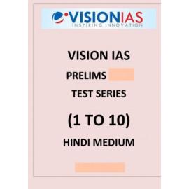Vision Ias prelims papers Hindi Medium 1 to 10