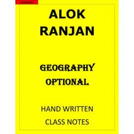 ALOK RANJAN GEOGRAPHY OPTIONAL CLASS NOTES