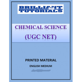 CHEMICAL SCIENCE OPTIONAL PRINTED NOTES BRILLIANT COACHING