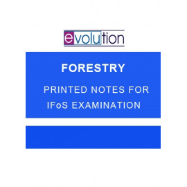 FORESTRY EVOLUTION PRINTED NOTES
