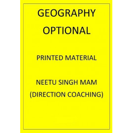 GEOGRAPHY OPTIONAL DIRECTION COACHING PRINTED NOTES