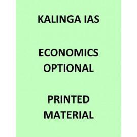 Kalinga IAS Economics optional printed notes