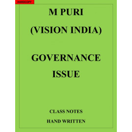 Governance Issue M PURI