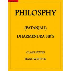 Philosophy optional PATANJALI CLASS