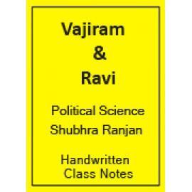 SUBHRA RANJAN POLITICAL SCIENCE OPTIONAL CLASS NOTES