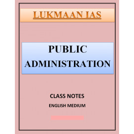 Public Administration Lukmaan IAS HAND WRITTEN