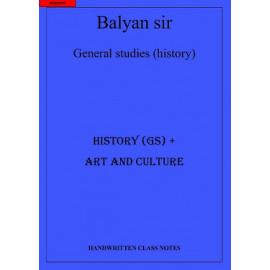 Balyan World History and Art and Culture class notes