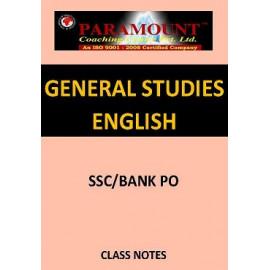 GENERAL STUDIES PARAMOUNT CLASS NOTES ENGLISH MEDIUM