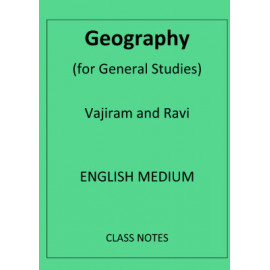 Geography general studies vajiram and ravi class notes