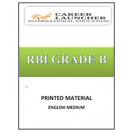 RBI GRADE B EXAMINATION BY CAREER LAUNCHER