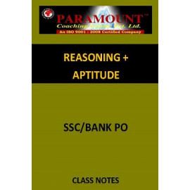 REASONING AND APTITUDE PARAMOUNT CLASS NOTES