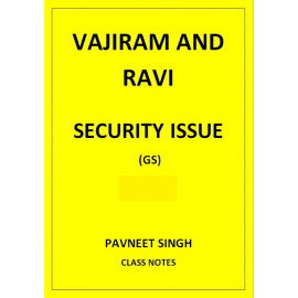 SECURITY ISSUES PAVNEET SINGH VAJIRAM AND RAVI CLASS NOTES