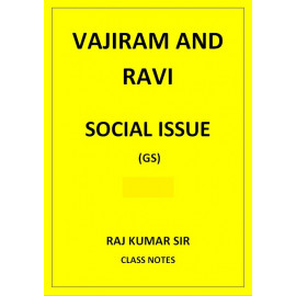 SOCIAL ISSUE RAJ KUMAR VAJIRAM AND RAVI CLASS NOTES