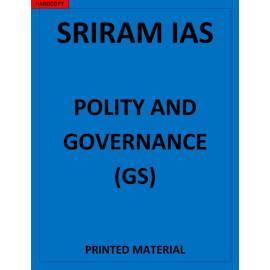 SRIRAM IAS Polity Governance and constitution Notes