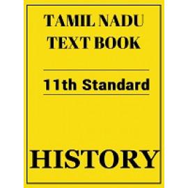 Tamil Nadu History Textbook 11th Standard