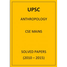 ANTHROPOLOGY CSE MAINS