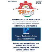 Electrical Engineering Handwritten Notes : Analog Electronics KREATRYX