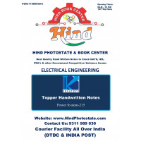 Electrical Engineering Handwritten Notes : Power System BY-ANKIT GOYAL Sir KREATRYX