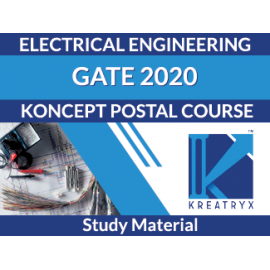 KREATRYX GATE & PSUs STUDY PACKAGE 2020 ;  ELECTRICAL  ENGINEERING   (THEORY & QUESTION )