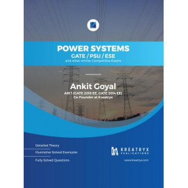 Power Systems Book for GATE/PSU/ESE Exam | By Ankit Goyal KREATRYX