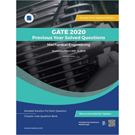 GATE 2020 ME Previous Year Solved Question Bank 1991-2019 kreatryx