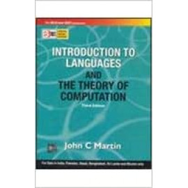 INTRODUCTION TO LANGUAGES AND THE THEORY OF COMPUTATION BY-JOHN C MARTIN OLD BOOK
